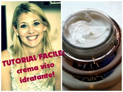 ☆Tutorial:CREMA VISO IDRATANTE ALL'ALOE VERA! facile☆