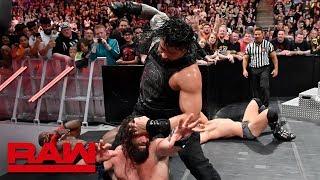 Roman Reigns  The Miz vs. Elias  Bobby Lashley: Raw, May 13, 2019