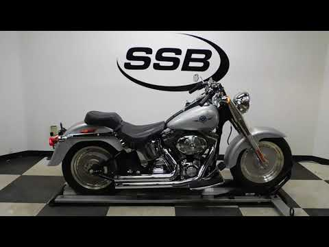 2005 Harley-Davidson FLSTF/FLSTFI Fat Boy® in Eden Prairie, Minnesota