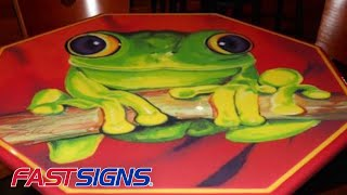 Using Environmental Graphics & Interior Décor To Brand Your Space | FASTSIGNS®