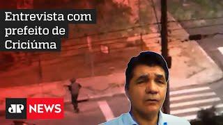 Não temos condições de oferecer segurança aos cidadãos, afirma prefeito de Criciúma