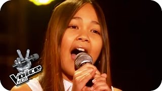 Rita Ora - I will never let you down (Theresa) | The Voice Kids 2016 | Blind Auditions