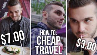 HOW TO: $150 MONTRÉAL TRIP