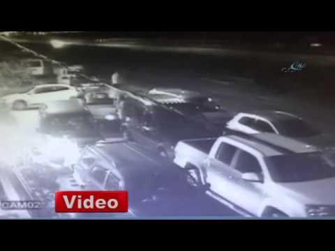 Rize'de düğün çıkışı kaza VİDEO İZLE