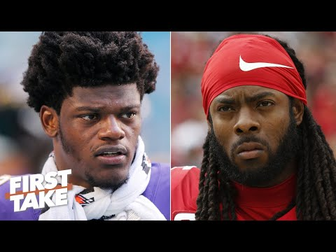 Richard Sherman defends Tim Ryan's comments about Lamar Jackson | First Take