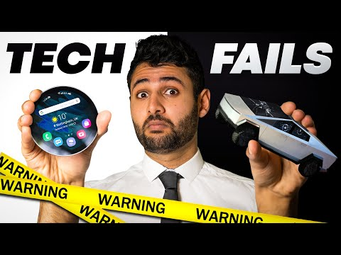 21 HORRIFIC Tech Fails they want you to forget.