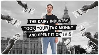 You won't believe what the dairy industry did with your tax money