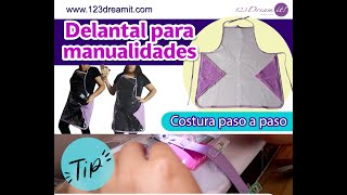 Delantal DIY - Proyecto de costura paso a paso