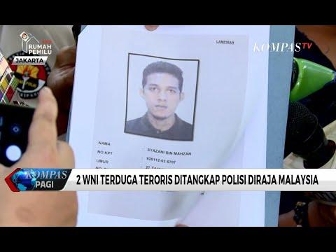 2 WNI Terduga Teroris Ditangkap Polisi Diraja Malaysia