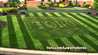 "Striping Your Lawn is Easy – 30"" Lawn Striping System"