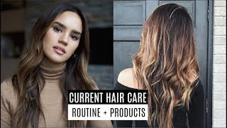 HAIR CARE ROUTINE FOR DAMAGED/DRY HAIR! | DACEY CASH