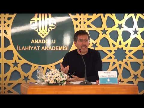 Prof.Dr. H.Yunus APAYDIN - İslam Düşüncesinde Gelenekçi Zahiri Eğilimler