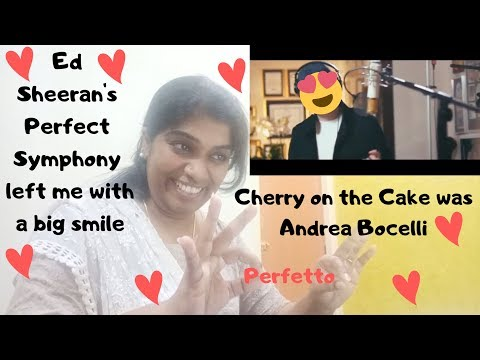 Download Perfect Symphony With Andrea Bocelli Ed Sheeran Ed