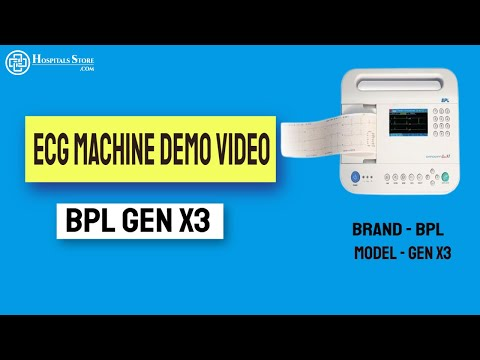 BPL ECG Machine GenX3