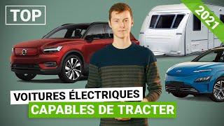 Le TOP des voitures électriques 2021 capables de tracter