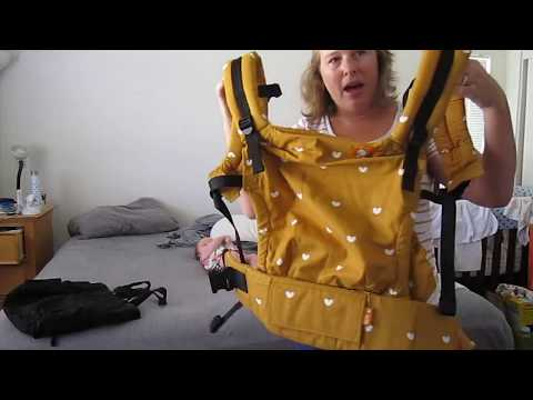 Tula Free to Grow Carrier review and demo with a real baby