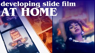 how to develop slide film at home (with Cinestill's Cs6 Creative Slide Kit)