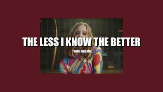 [ thaisub ] the less i know the better - tame impala