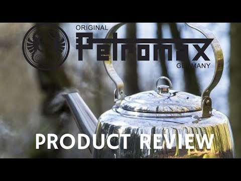 Petromax TK1 Stainless Steel Kettle Unboxing & Demonstration (English)