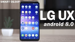 LG UX (Android 8) - обзор оболочки LG V30+