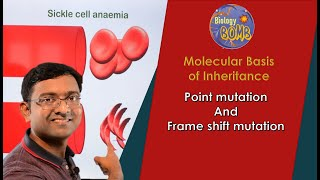 Point mutation and frameshift mutation I NEET I Dr Kunal Tatte