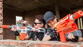 Nerf Guns War: SEAL TEAM Special Fight Group Of Dangerous Fools