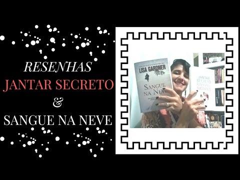 RESENHAS JANTAR SECRETO & SANGUE NA NEVE | SUSPENSE |POLICIAL |LeiturasdaTchella