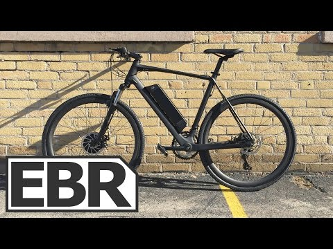 Daymak EC1 Carbon Fiber Electric Bike Video Review