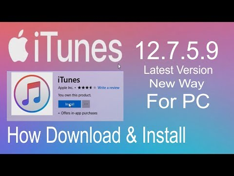 iTunes | Latest Version Download & Install Free For PC | July 2018 In Hindi