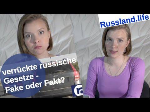 Verrückte russische Gesetze – Fake oder Fakt? [Video]