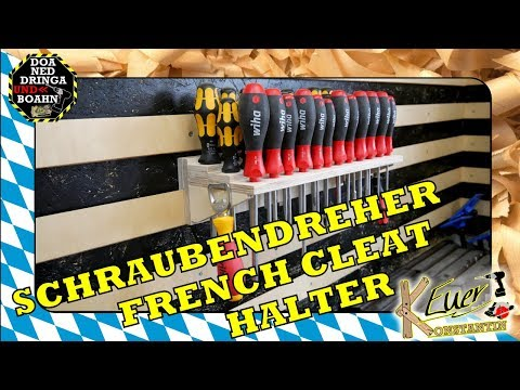 Schraubendreher | French Cleat Halter | DIY