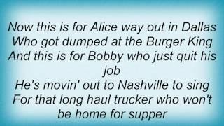 Terri Clark - Honky Tonk Song Lyrics