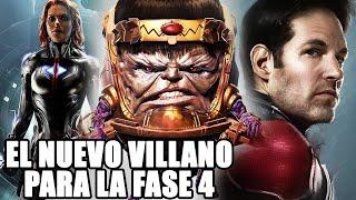 ¡SE APROXIMA! Nuevo villano para la fase 4 de Marvel Studios y tendrá lugar en Ant-Man 3