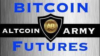 Cryptocurrency Market Update - Bitcoin Futures Affect