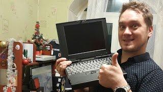 ✅  РАРИТЕТ! Тестируем ноут 486DX2 - Ретро Ноутбук из 90х! [18+]