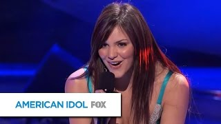 Katharine McPhee Sings Black Horse And The Cherry Tree By KT Tunstall  AMERICAN IDOL