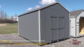 12 X 16 Garden Sheds | Storage Sheds | Prefab Wood Shed | Ottawa Sheds