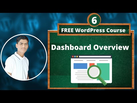 WordPress Dashboard Tutorial for Beginners | Wordpress Dashboard  overview | wordpress course Hindi