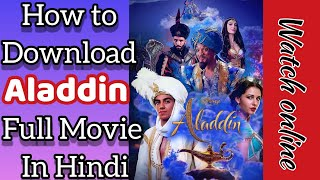 how to download aladdin 2019 full movie in english on pc - TH-Clip