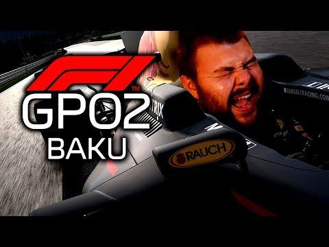 Der Crash Wahnsinn - GPO2 - F1 2018 Multiplayer