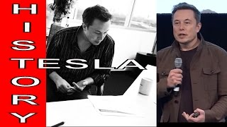 Elon Musk Explains Tesla Motors Electric Vehicle History