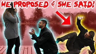 (GONE WRONG) HE ASKED HER TO MARRY HIM & SHE REJECTED? **EMOTIONAL**   MOE SARGI