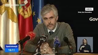 01/05: Ponto de Situação da Autoridade de Saúde Regional sobre o Coronavírus nos Açores