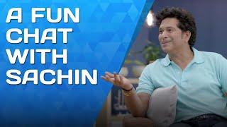 Fun chat with Sachin Tendulkar feat. A Super Over   Luminous Presents Dil Se