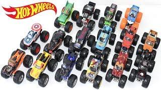 Coleção Carrinhos Hot Wheels Monster Jam 2018 - Brinquedos