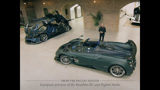 YouTube Video QMvASj2sPi8 for Product Pagani Huayra Roadster BC by Company Pagani Automobili in Industry Cars