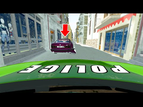 Epic Street Cars Chasing - BeamNG Drive