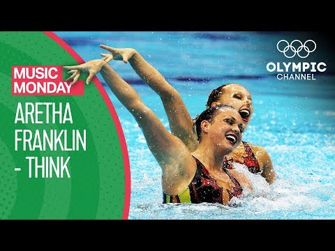 "USA's Artistic Swimming Performance To Aretha Franklin's ""Think"" 