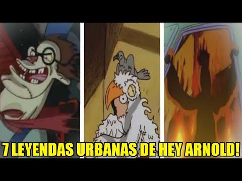 7 Leyendas Urbanas Que Aparecieron En La Caricatura De ¡Hey Arnold!
