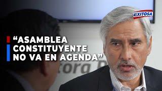 """PERÚ, """"EN LA AGENDA DEL GOBIERNO NO ESTA LA ASAMBLEA CONSTITUYENTE"""""""